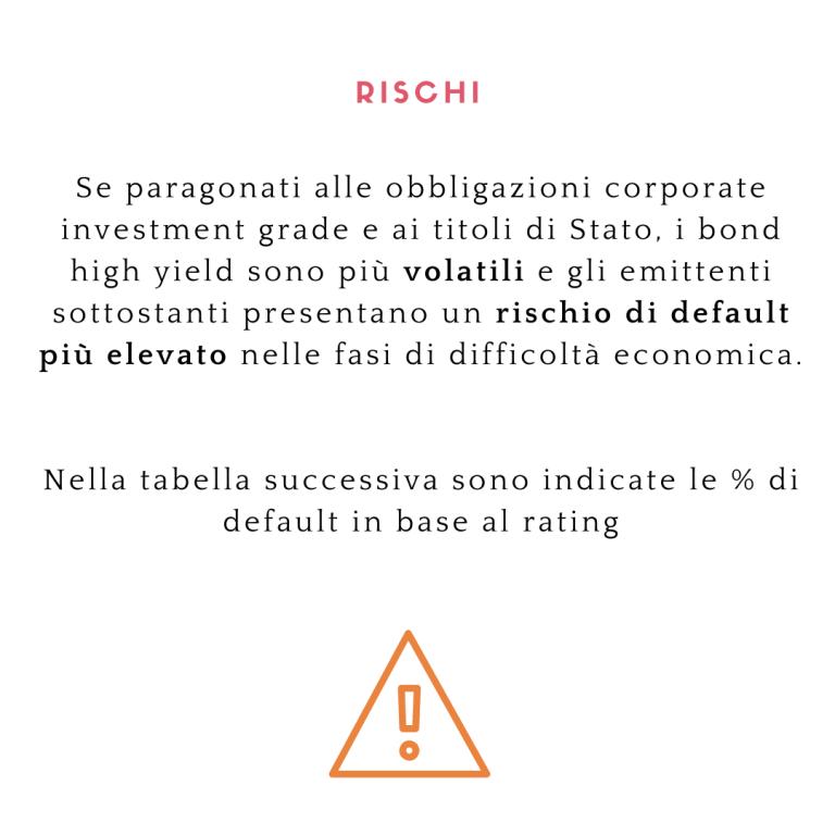 rischi high yield